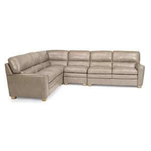 Flexsteel Latitudes-Ivy 4 Pc Sectional Sofa