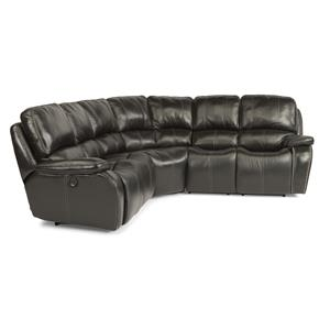 Flexsteel Latitudes-MacKay 3 Pc Power Reclining Sectional Sofa