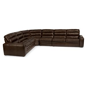 Flexsteel Latitudes - Mariah 5 Pc Sectional Sofa