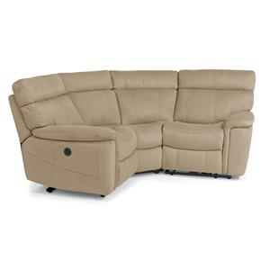 Flexsteel Latitudes-Phoenix 3 Pc Power Reclining Sectional Sofa