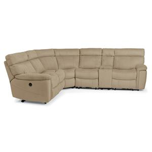 Flexsteel Latitudes-Phoenix 6 Pc Power Reclining Sectional