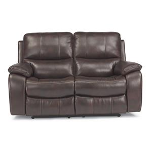 Flexsteel Latitudes - Woodstock Double Power Reclining Love Seat