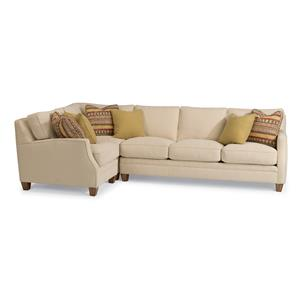 Flexsteel Lenox 3 Pc Sectional Sofa