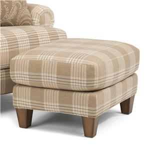 Flexsteel Luxury Ottoman (No Nails)