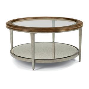 Flexsteel Patina Round Cocktail Table