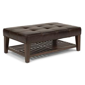 Flexsteel Latitudes - Port Royal Upholstered Cocktail Ottoman