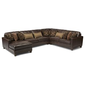 Flexsteel Latitudes - Port Royal 4 Pc Sectional Sofa
