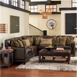 Flexsteel Latitudes - Port Royal 3 Pc Sectional Sofa
