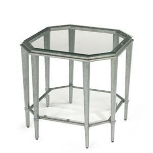 Flexsteel Prism Lamp Table