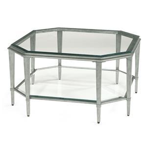Flexsteel Prism Square Cocktail Table