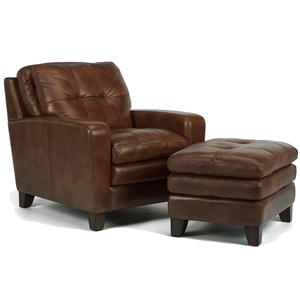Flexsteel Latitudes - South Street Chair and Ottoman