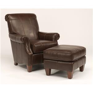 Flexsteel Stafford - -660344646 Chair and Ottoman