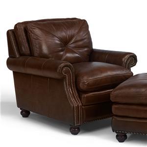 Flexsteel Latitudes-Suffolk Upholstered Leather Chair