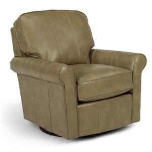Flexsteel Swivel Glider Collection Parkway Swivel Glider