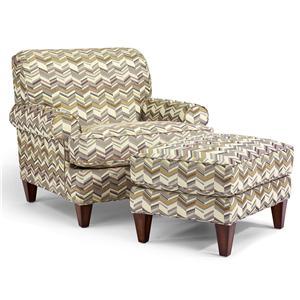 Flexsteel Venture chair & ottoman