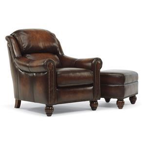 Flexsteel Latitudes - Wayne Chair and Ottoman