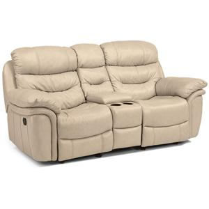 Flexsteel Latitudes - Westport Power Love Seat with Console