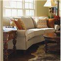 Flexsteel Westside Casual Conversation Sofa - Shown in Living Room Setting