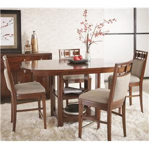 Folio 21 Avignon 5 Piece Counter Height Dining Table Set