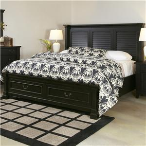 Folio 21 Ravenswood Queen Shutter Bed