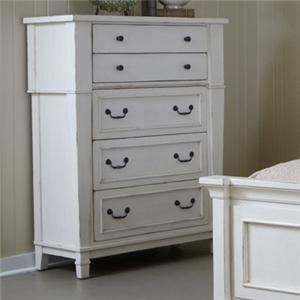 Folio 21 Astoria Five Drawer Chest