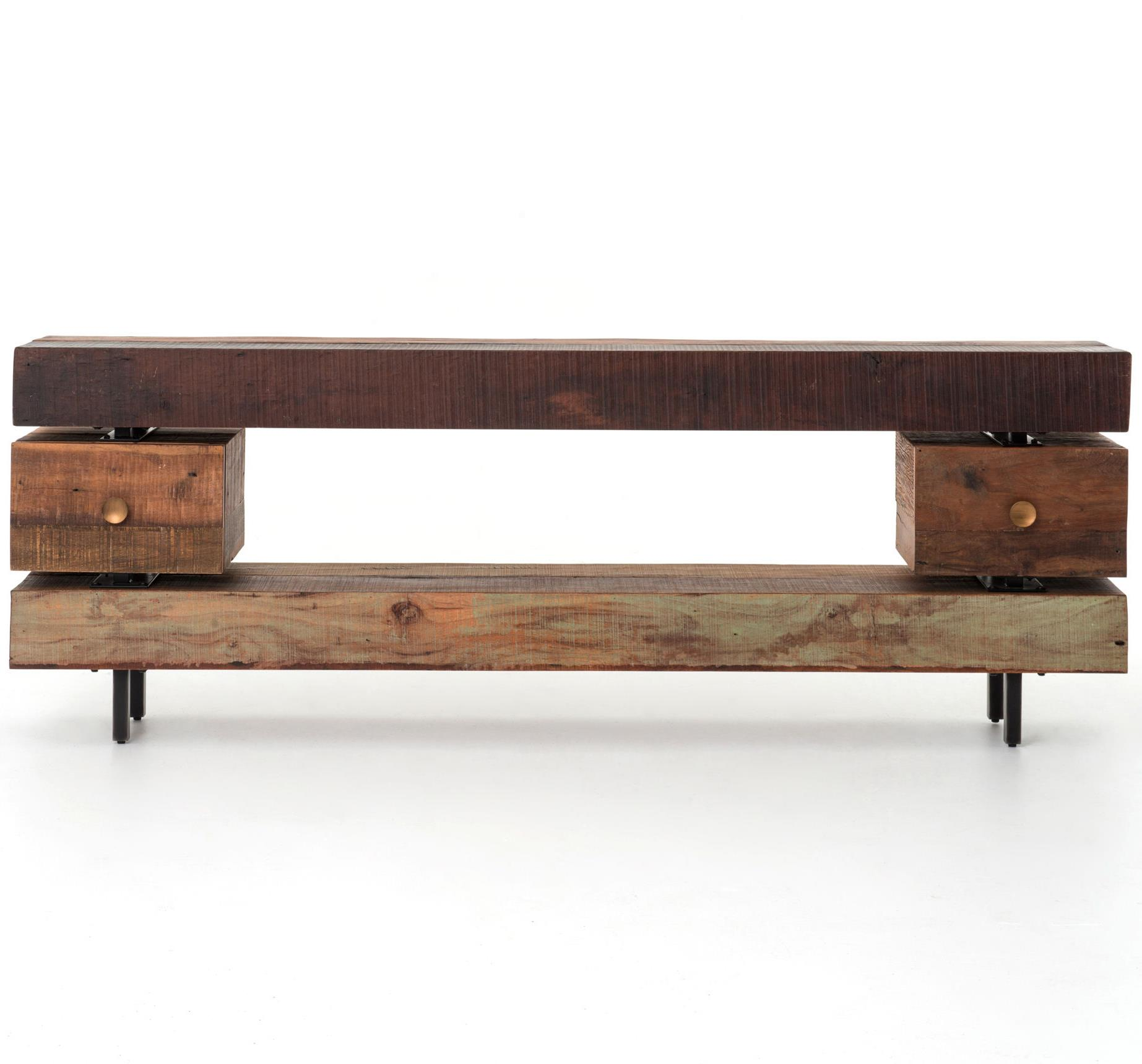 Dillon console table with 2 drawers by four hands wolf and by four hands dillon console table with 2 drawers geotapseo Gallery