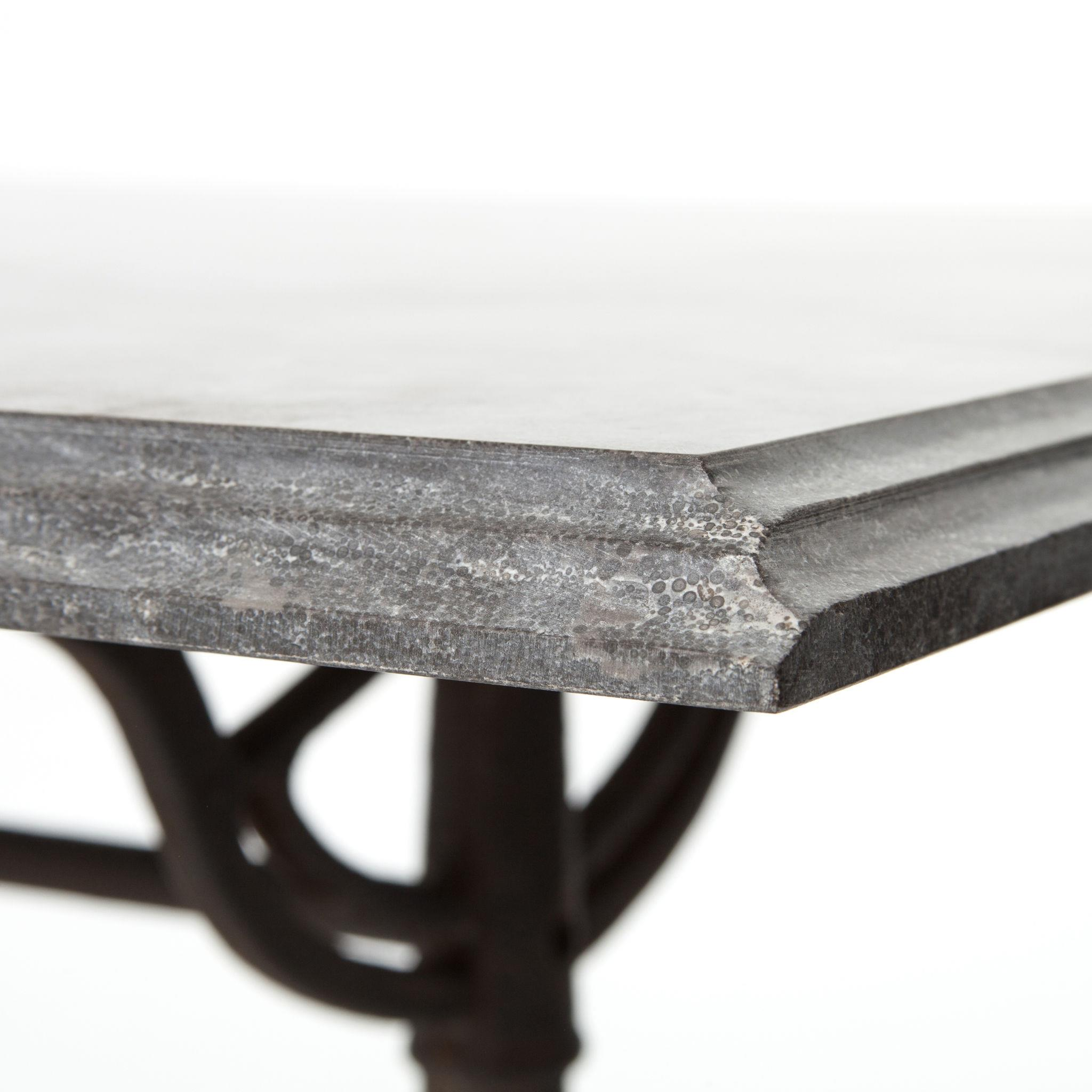 Parisian Dining Table with Bluestone Top by Four Hands | Wolf and ...