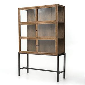 Four Hands Irondale Curio Cabinet