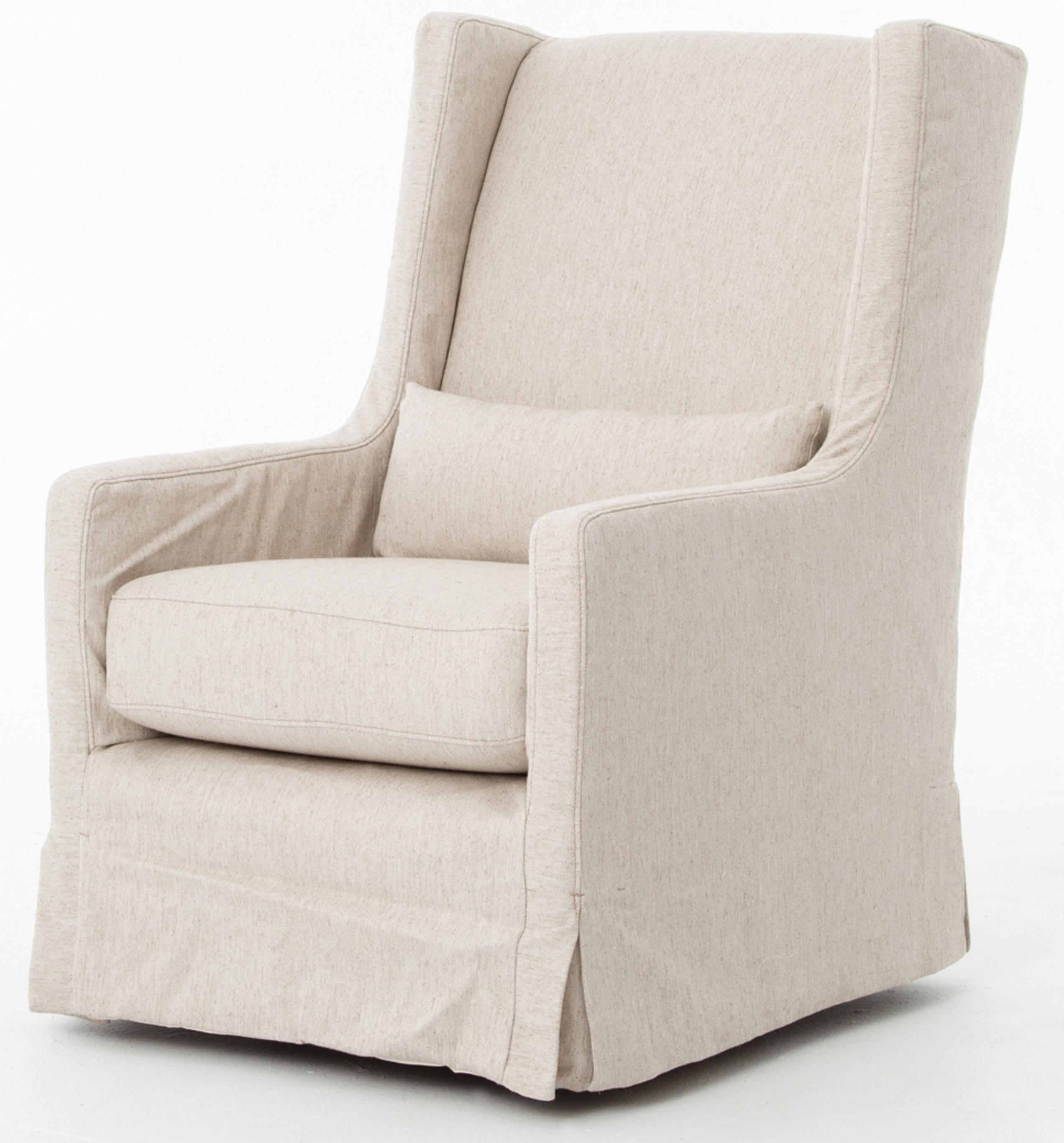 Charmant Swivel Wing Chair