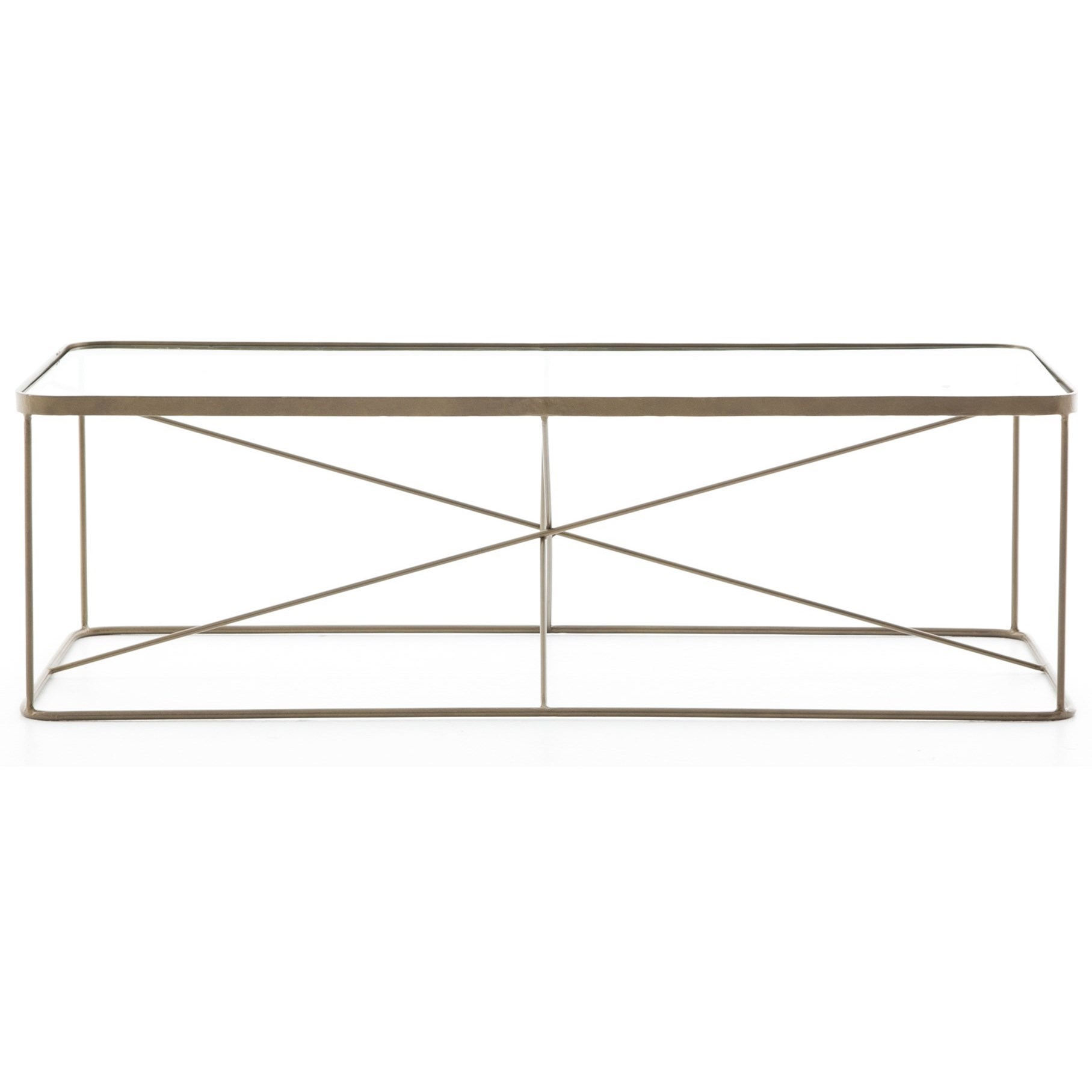 Lucas Geometric Coffee Table by Four Hands