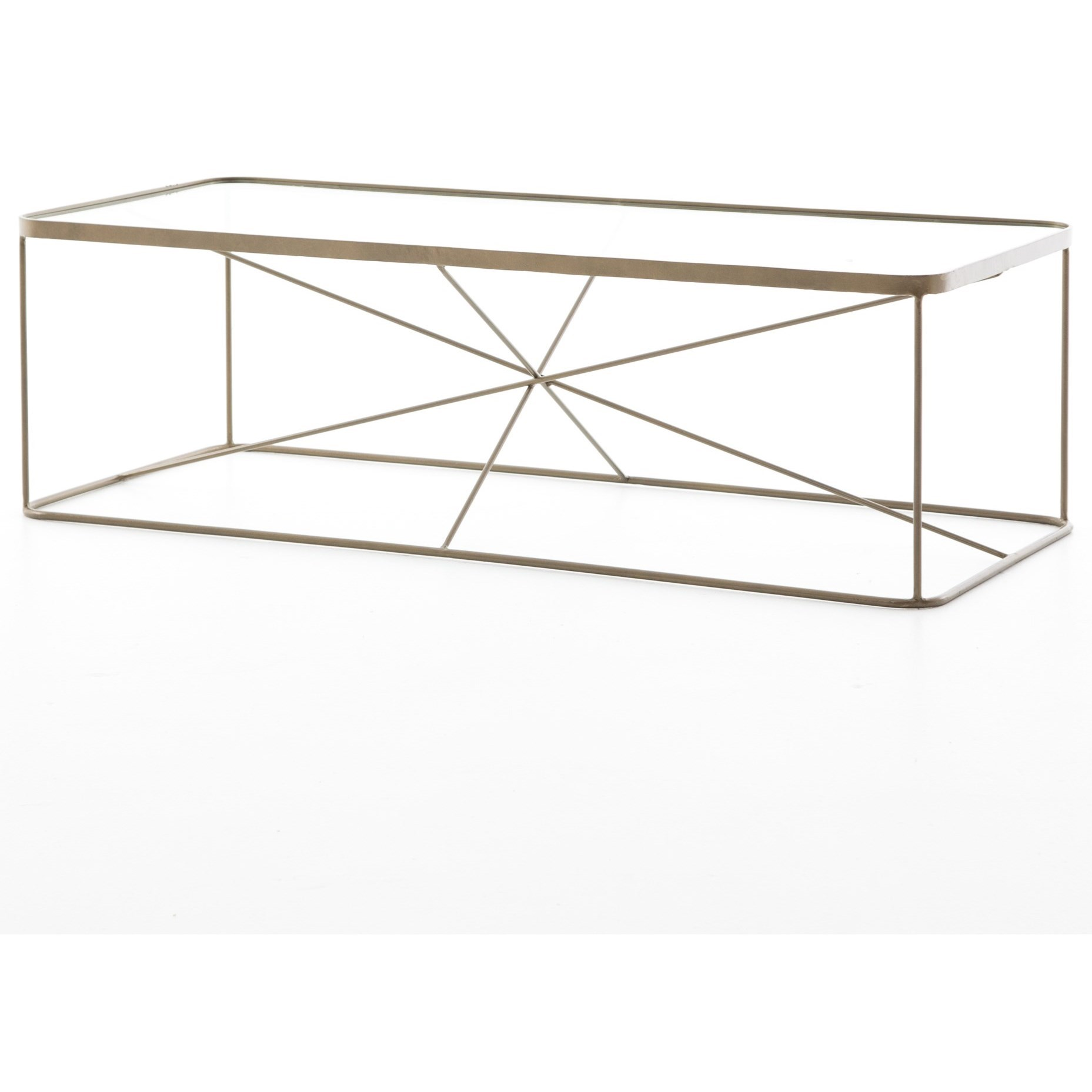 Lucas geometric coffee table by four hands wolf and gardiner lucas coffee table geotapseo Gallery