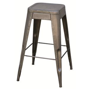 Four Hands Primitive Bistro Bar Stool