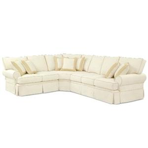 Four Seasons Furniture Bertha Casual Sectional