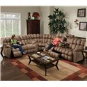Franklin 542 Sectional - Item Number: 54234+99+39 8405-15