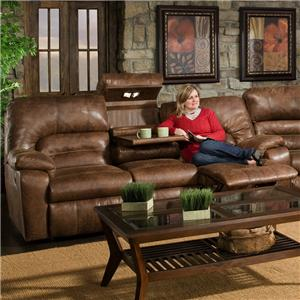 Franklin   Sofa with Lights, Drawer and Storage