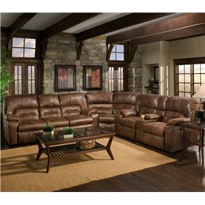 Franklin 596 3PC POWER Sectional