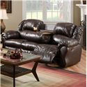 Franklin 691 Sofa Recl / Table - Item Number: 69144L