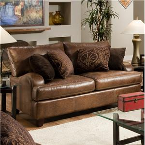 Franklin 809 Loveseat