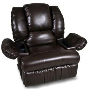 Franklin Rocker Recliners Recliner with Dual Massage, Cooler