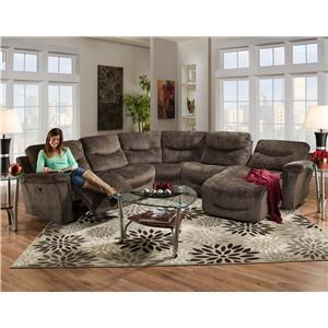 Vendor 379 Milano  Power Sectional Sofa