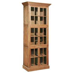 Furniture Classics Accents Fir Single Stack Bookcase