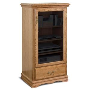 Furniture Traditions American Living Media Pier Cabinet Right
