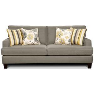 Fusion Furniture 2490 Stationary Sofa