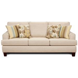 Fusion Furniture Marlo Ivory Sleeper