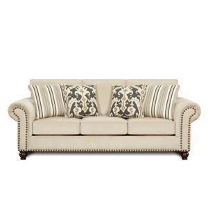 Fusion Furniture 3110 Fairly Sand Sofa