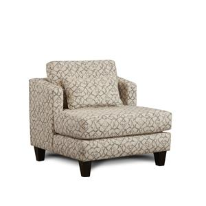 Fusion Furniture Meritage Gray Accent Chair