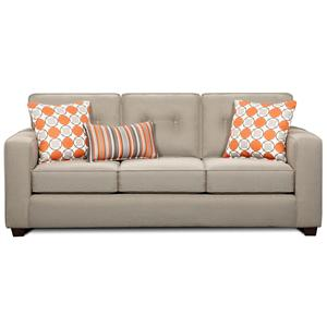 Fusion Furniture 3560B Sleeper Sofa