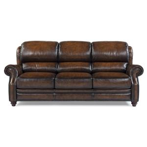 Futura Leather 7736 Traditional Leather Sofa