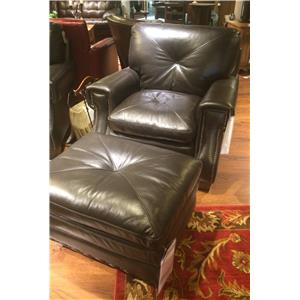 Futura Leather 8260 Leather Chair and Ottoman