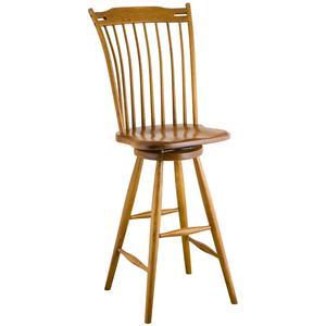 Greenbrier Dining Rod Back Bar Chair